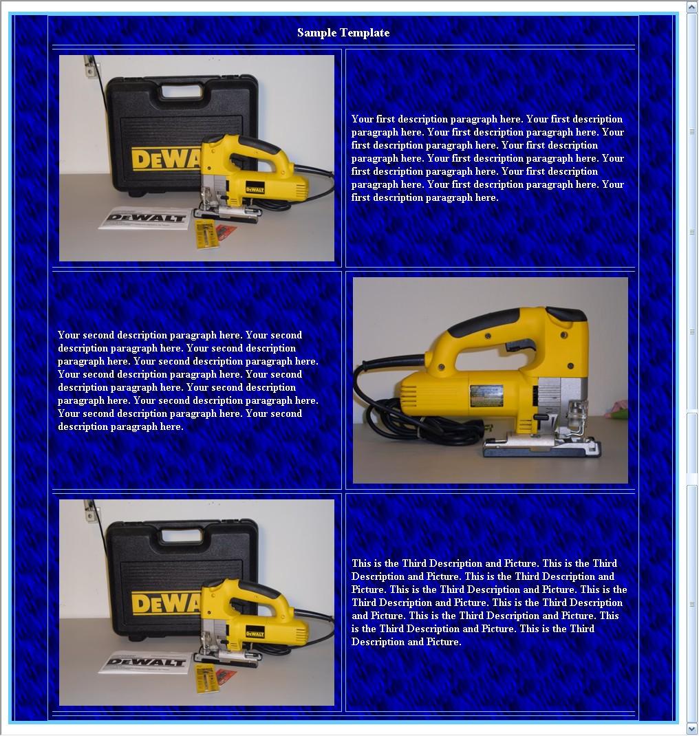 EBay Template Maker - Ebay template maker