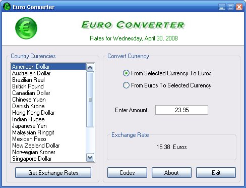 Currency Conversion Comments